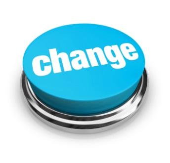 Change Button - Blue