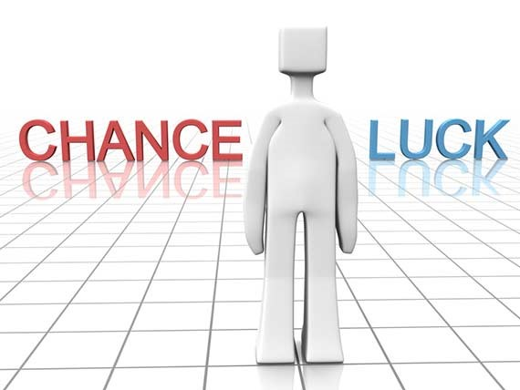 Cross roads - Chance + Luck